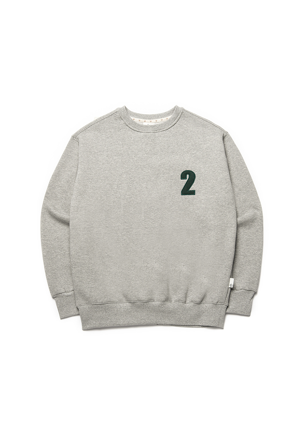 2 Logo sweat shirt [melange]