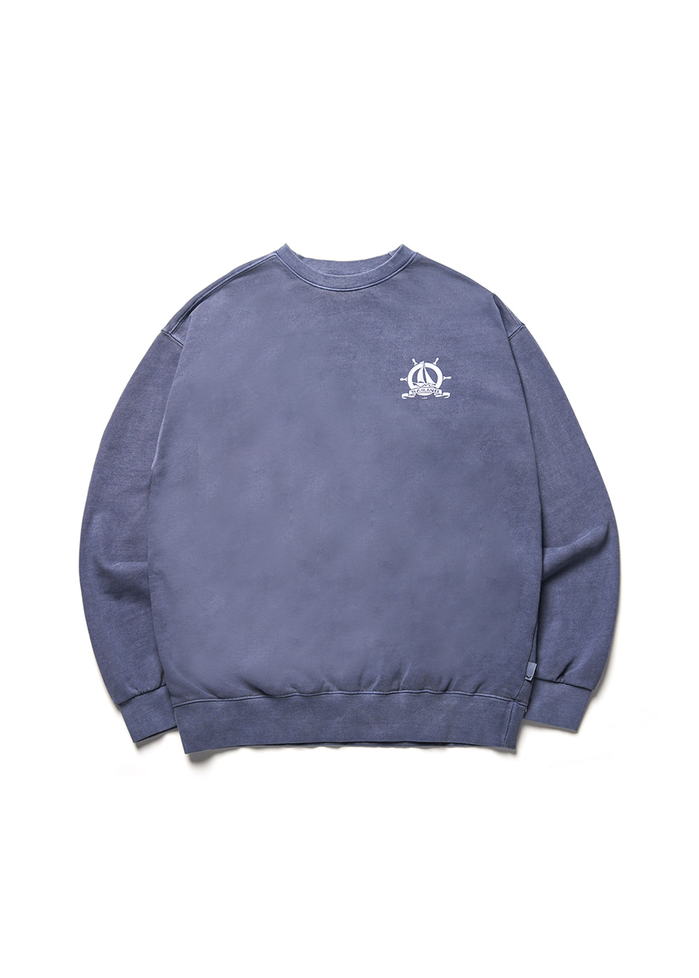 Pigment academy sweat shirt [navy]