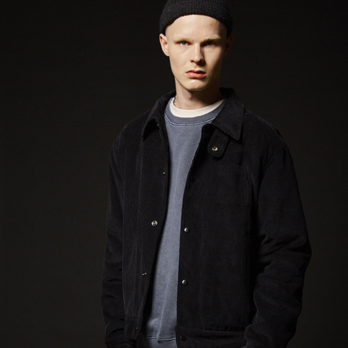 CORDUROY JACKET(BLACK)