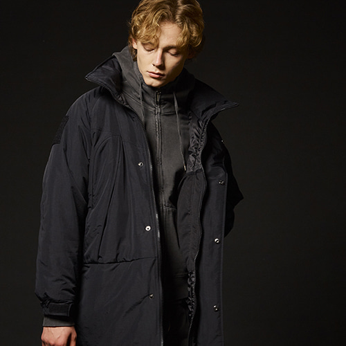 (PRIMALOFT)MONSTER PARKA (BLACK)