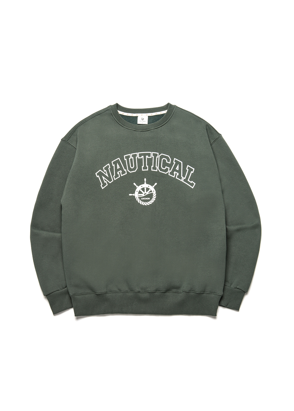 Nautical sweat shirt [dark green]