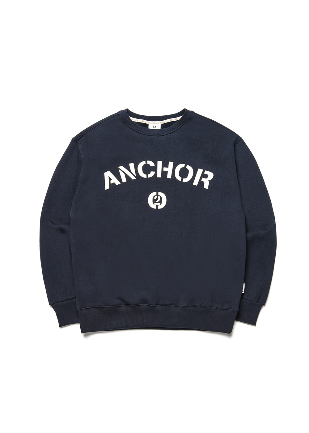 Anchor sweat shirt [navy]