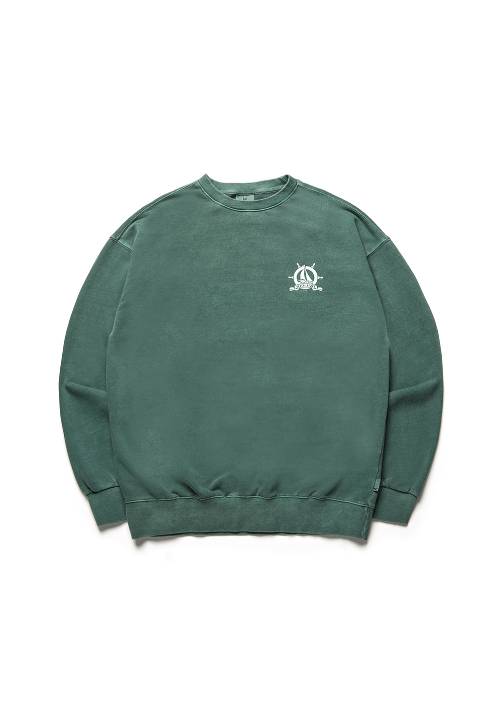 Pigment academy sweat shirt [dark green]