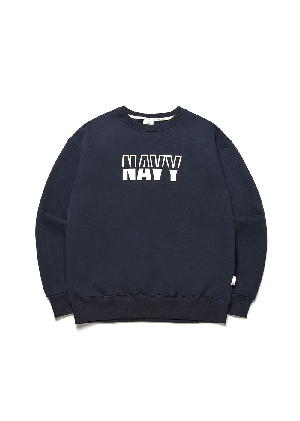 Navy sweat shirt [navy]