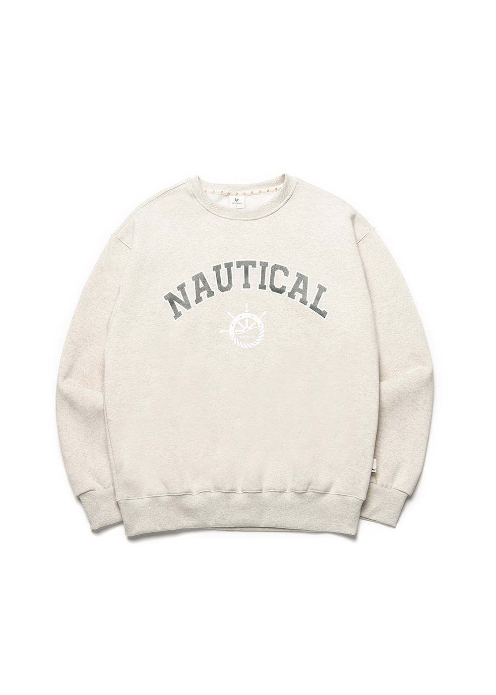 Nautical sweat shirt [oatmeal]