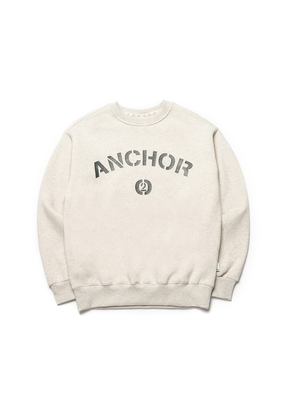 Anchor sweat shirt [oatmeal]