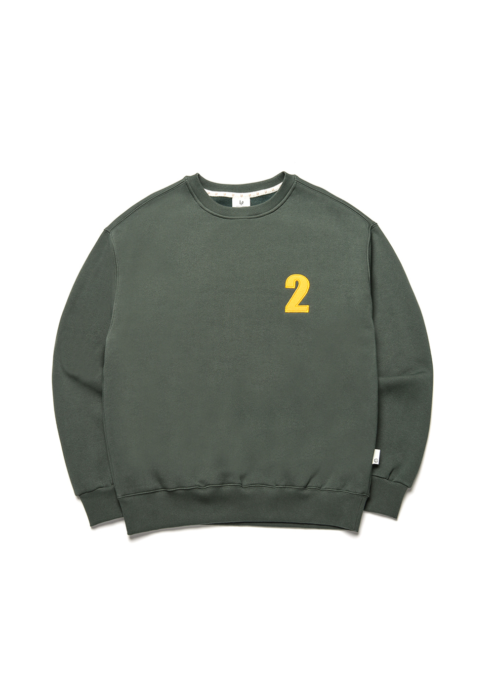 2 Logo sweat shirt [dark green]